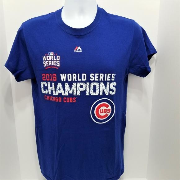cheap for discount 8a4fd 4f01b Chicago Cubs 2016 World Series Champions MLB Shirt